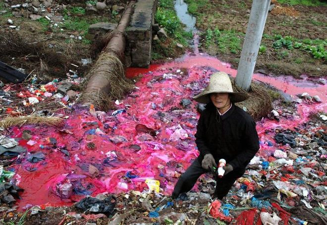Những vùng đất ô nhiễm ở Trung Quốc