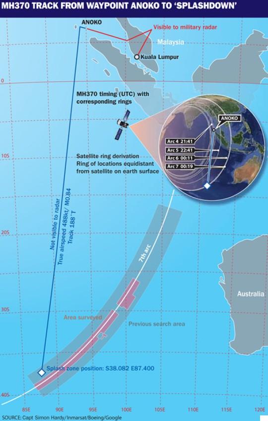 MH370 lạc lối ở đâu suốt 1 năm qua?