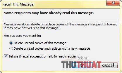 """Thủ thuật đơn giản để """"triệu hồi"""" e-mail đã gửi"""