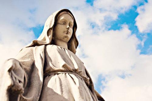 Những lần tượng Đức Mẹ đồng trinh chảy nước mắt