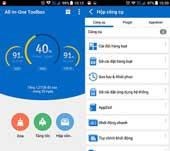 Ứng dụng dọn dẹp tệp tin rác trên smartphone Android