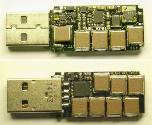 Cảnh báo: USB có thể biến thành một quả bom nguy hiểm