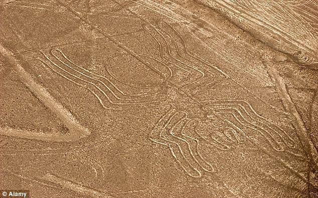 Những hình vẽ kỳ lạ trên vùng sa mạc