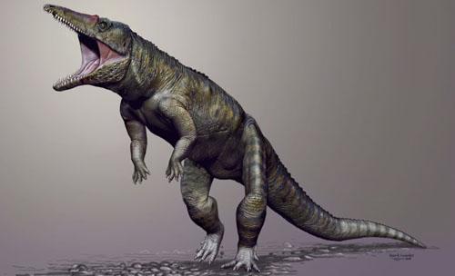 Cá sấu khổng lồ từng là chúa tể muôn loài