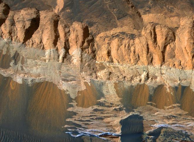 Những hình ảnh ấn tượng trên sao Hỏa