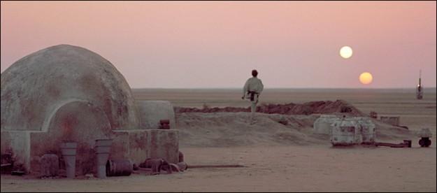 Hành tinh Tatooine trong Star Wars thật sự tồn tại