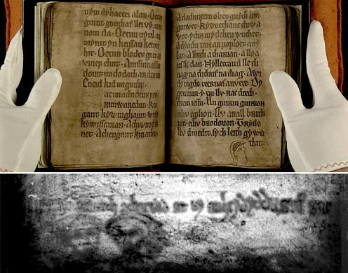 """Bí ẩn khuôn mặt ma và thơ """"tàng hình"""" trong văn tự cổ"""
