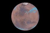 Phát hiện băng hà đang tan chảy dưới lớp cát bụi trên bề mặt Sao Hỏa