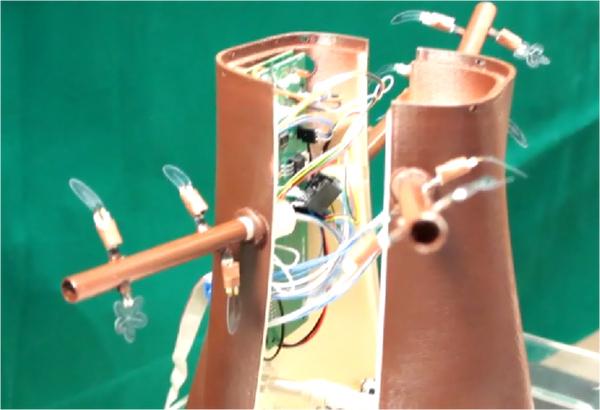 Chế tạo thành công cây robot Plantoid