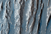 Phát hiện hàng loạt khối đá hình ngón tay trên bề mặt Sao Hỏa
