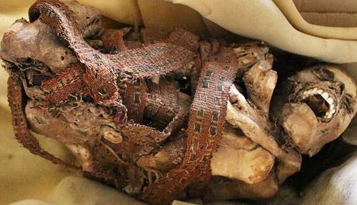Phát hiện xác ướp 900 năm tuổi ở Peru