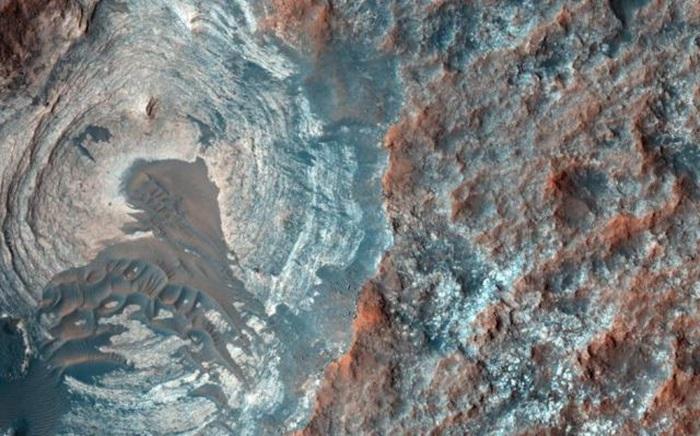 Chùm ảnh màu cận cảnh bề mặt sao Hỏa mới nhất