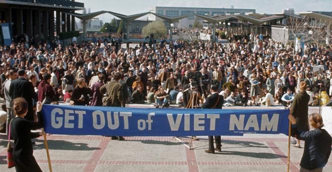 Chùm ảnh về phong trào phản đối chiến tranh Việt Nam thập niên 60