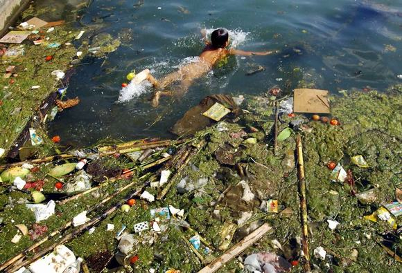 Chùm ảnh sốc về ô nhiễm môi trường