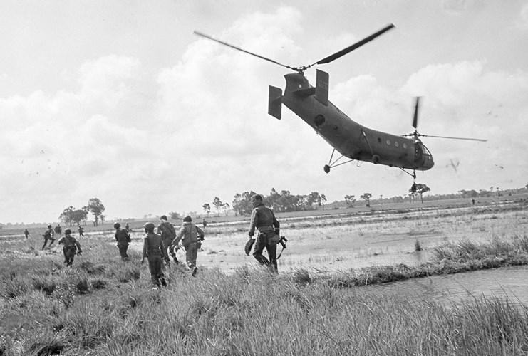 Những bức ảnh kinh điển về chiến tranh Việt Nam 1962 - 1967