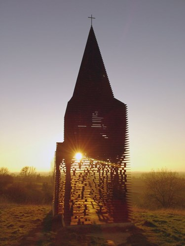 """Kỳ lạ nhà thờ có khả năng """"tự biến mất"""""""