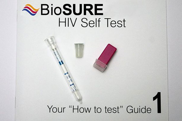 Bộ dụng cụ chẩn đoán HIV chỉ trong 15 phút