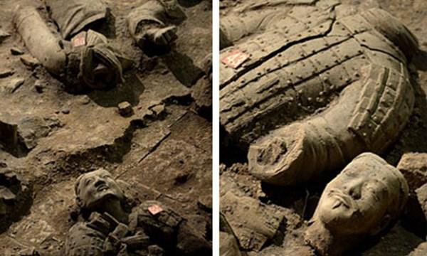 """Phát hiện chiến binh """"ngoại"""" trong lăng mộ Tần Thủy Hoàng"""
