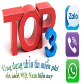 Top 3 ứng dụng nhắn tin miễn phí tốt nhất Việt Nam