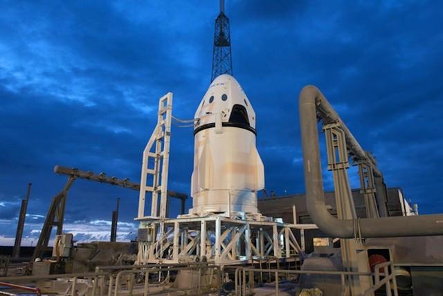 SpaceX phóng thành công tàu Dragon 2
