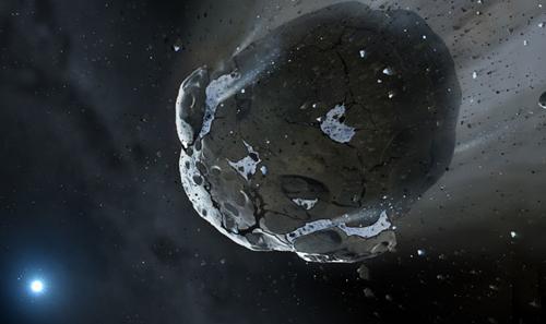 Tiểu hành tinh sắp ngang qua Trái Đất