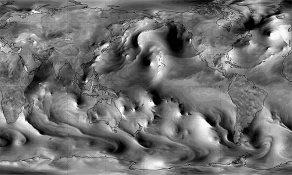 """Phát hiện lớp sóng vô hình đang """"cuồn cuộn"""" trên Trái đất"""