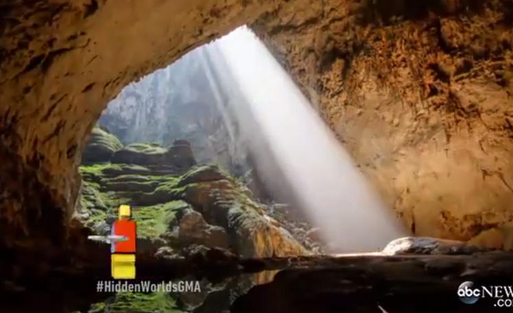 Cận cảnh vẻ đẹp choáng ngợp của hang Sơn Đoòng trên chương trình truyền hình Mỹ