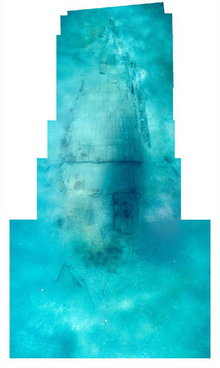 Phát hiện xác tàu đắm từ thế kỷ 17