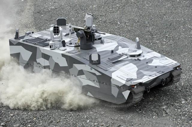Xe thiết giáp CV90 sử dụng công nghệ của xe đua F1