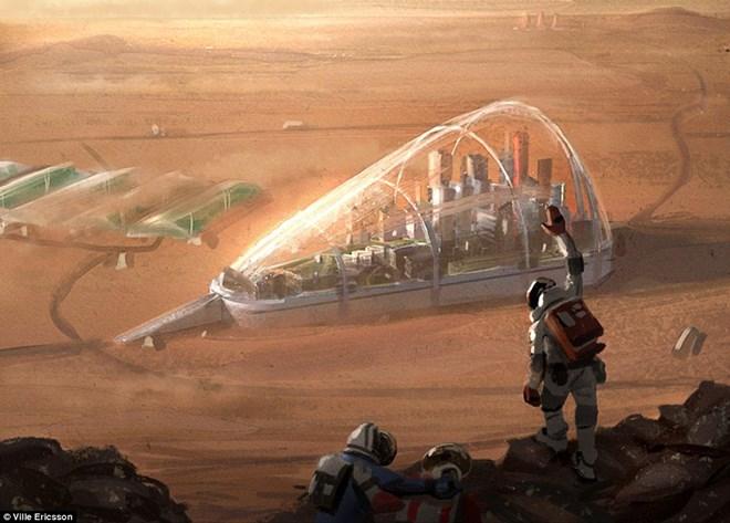 Cuộc sống của con người ra sao khi làm chủ Sao Hỏa