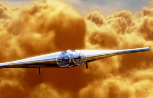 Mỹ thiết kế tàu bay bơm phồng để khám phá sao Kim