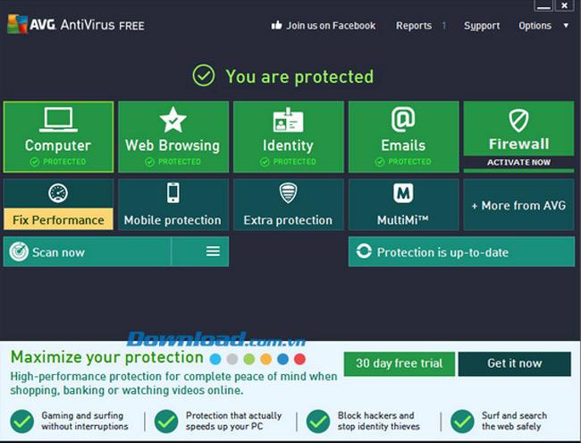 Top 5 phần mềm diệt virus miễn phí tốt nhất