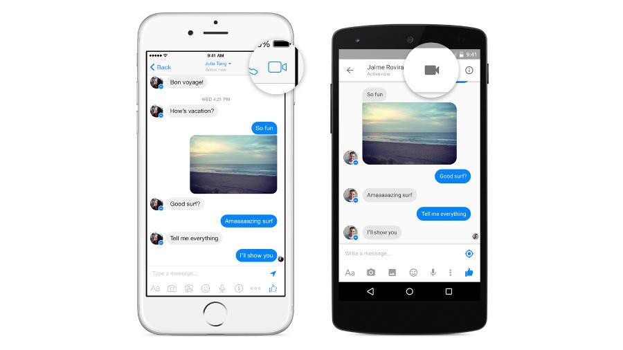 Facebook mở tính năng gọi điện video ra toàn cầu