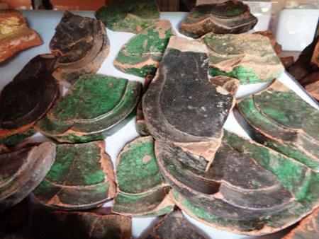 Phát hiện nhiều dấu tích, di vật cổ ở Thành nhà Hồ