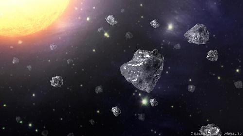 Tìm thấy kim cương trong thiên thạch rơi xuống Trái Đất