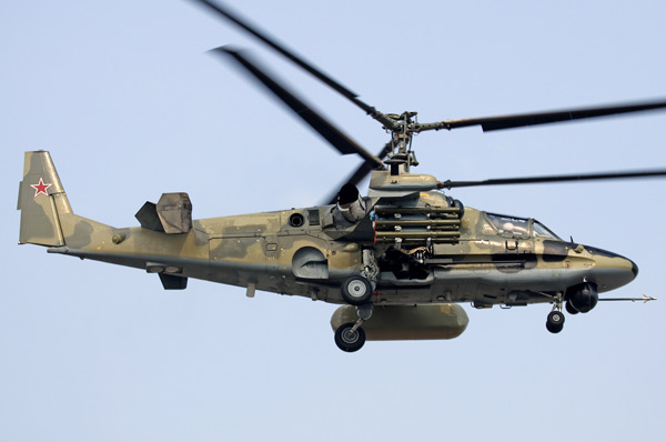 """Khám phá trực thăng Nga Kamov Ka-52 Alligator mệnh danh """"xe tăng bay"""""""