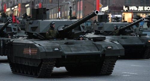 """Khám phá sức mạnh """"quái vật"""" mới của siêu tăng T-14 Armata"""