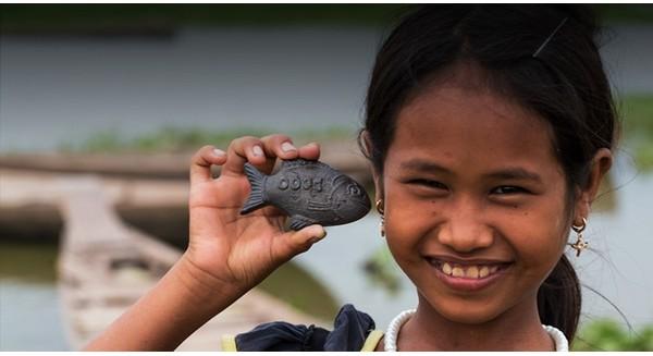 Tìm hiểu về con cá bằng sắt Lucky Fish giúp ngăn ngừa thiếu máu