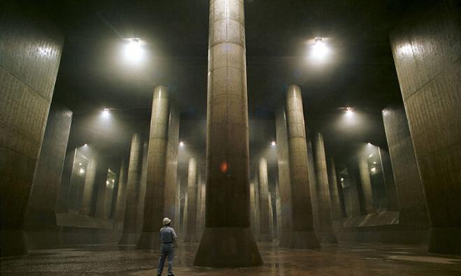 Khám phá hệ thống cống khổng lồ dưới lòng Tokyo