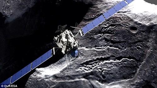 ESA dự định cho tàu vũ trụ đâm vào sao chổi?
