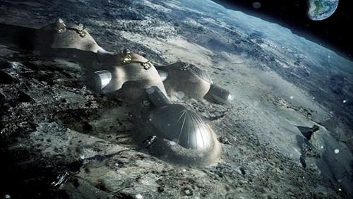 ESA muốn xây dựng căn cứ trên mặt trăng