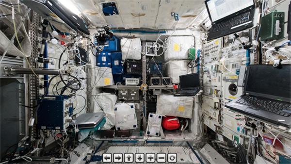 Tham quan khung cảnh bên trong trạm không gian quốc tế ISS
