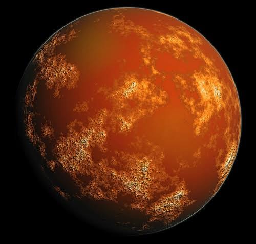 Phát hiện mới về tồn tại sự sống dưới bề mặt sao Hỏa