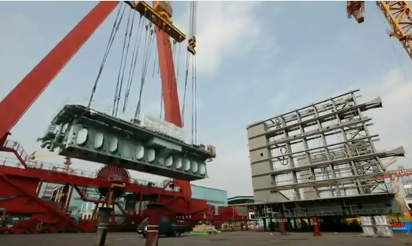Khám phá nhà máy đóng tàu lớn nhất thế giới