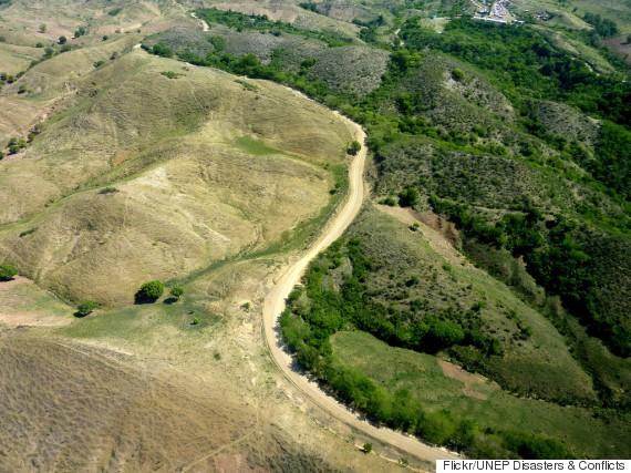 Đường biên giới giữa Haiti - CH Dominica