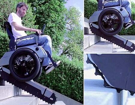 Xe lăn điện leo cầu thang