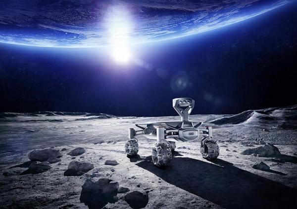 Audi làm xe tự hành cho cuộc đua Google Lunar X-Prize
