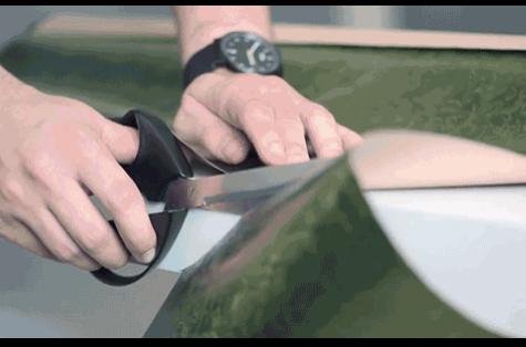 """""""Siêu kéo Vector"""" cắt giấy siêu thẳng"""