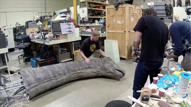 Khủng long trong phim Jurassic World được tạo ra như thế nào?