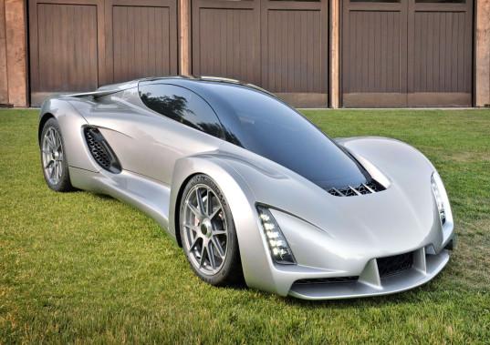 Siêu xe đầu tiên trên thế giới được... in 3D